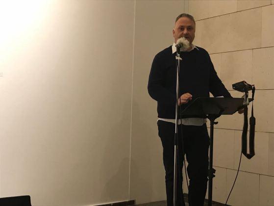 """Jesús Zomeño en el encuentro literario """"La Movida y los 80"""". Foto: Carmen Dueñas"""