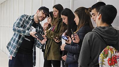 Aprender a fotografiar con el móvil como ejercicio de inclusión