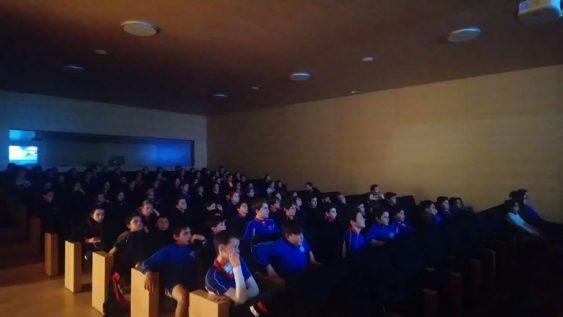 Proyeccion de películas Proyecta ALC Foto: Asociación Mediterrània Audiovisual