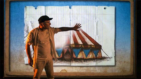 """""""Screen man"""" rompe la cuarta pared teatral en la Casa de la Cultura de Villena"""