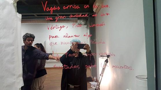 Poesia colectiva. Foto: Manuel Velandia