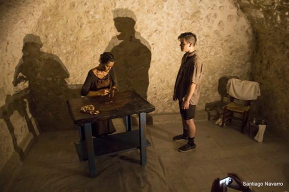 Escenas de Microteatro en espacios públicos en su edición de 2017 FotoSantiago Navarro