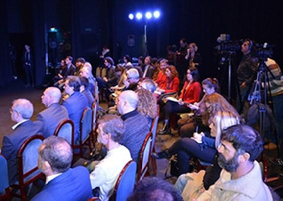 Asistentes al acto. Foto: Ayuntamiento de Alicante.