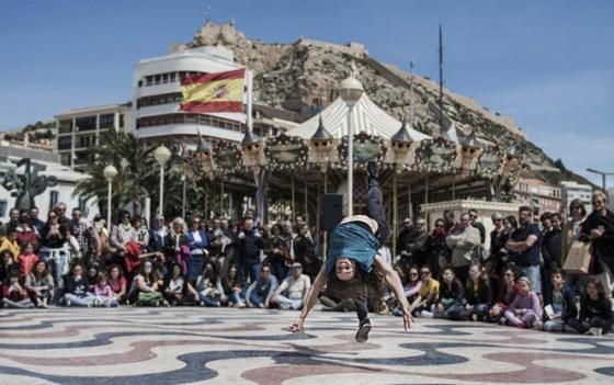 Abril en Danza En Calle Alicante 2017
