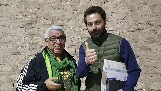 Cecilio Puerta y Manuel Velandia. Foto: JCSanzPhoto