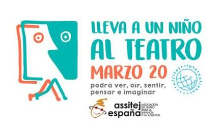 Lleva un niño-a al teatro para celebrar el Día Mundial del Teatro para Niños y Jóvenes