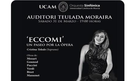 """«Eccomi:Un paseo por la ópera"""" y Réquiem de Karl Jenkins en el Auditori Teulada Moraira"""