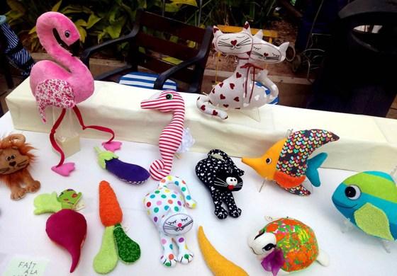 Muñecos de Tela de María de los Ángeles . Foto: Geraldine Gabasa