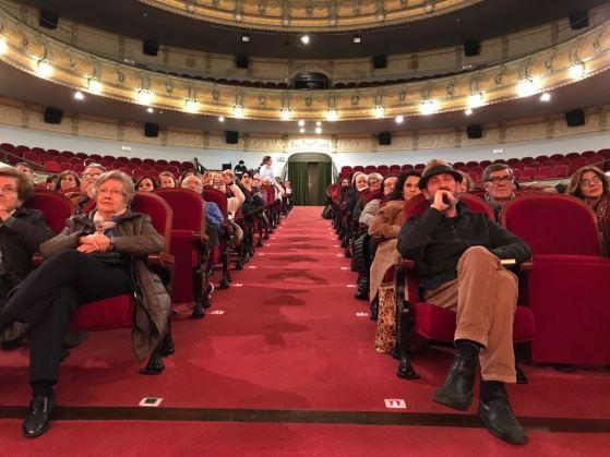 """Público del Ciclo """"La dignidad de la palabra"""". Foto"""