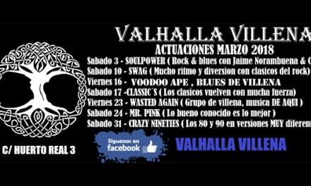 """""""THE CLASSIC´S BAND"""" POP lleva su versiones  de los éxitos de los 70s 80s 90s al VALHALLA VILLENA"""