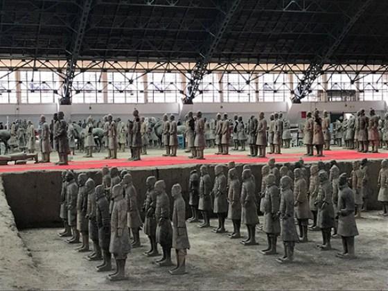 Soldados de Terracota, Mausoleo de Qin Shihuang