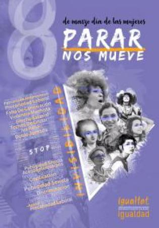"Cartel Campaña ""PARAR NOS MUEVE"""