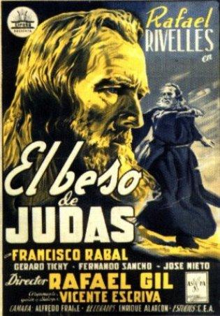 """Cartel """"El Beso de Judas"""""""