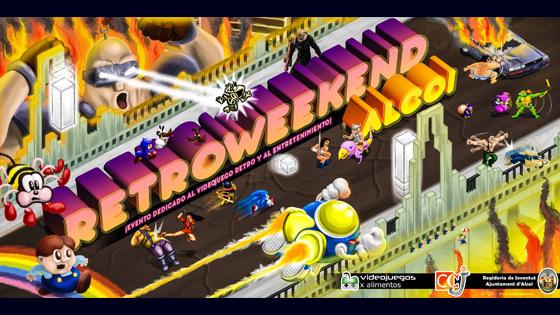 Retroweekend Alcoy recibirá a los amantes de los videojuegos retro y la cultura arcade