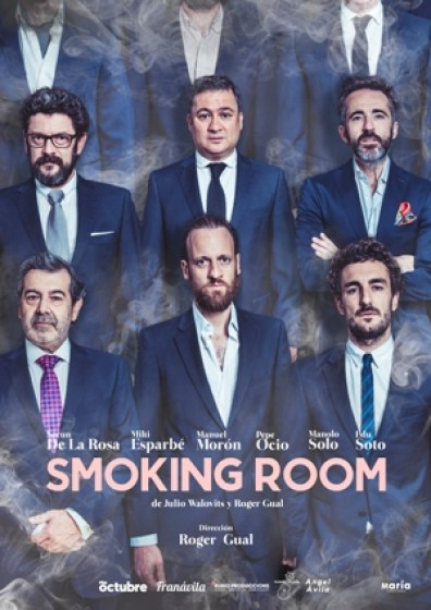 "Cartel ""Smoking Room"""
