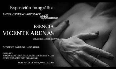 """Espacio ACAS_basement comienza su recorrido con la exposición fotográfica """"Esencia""""de Vicente Arenas"""