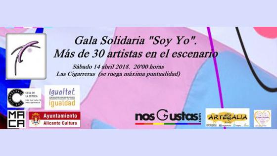 «Soy yo, Gala solidaria por la transexualidad» ofrecerá un festival lúdico-divulgativo en Las Cigarreras