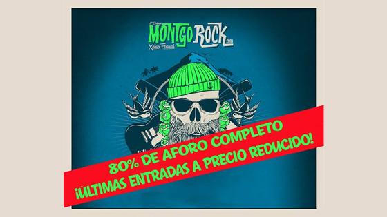 Últimas entradas a precio reducido para el Montgorock Xàbia Festival disiponibles hasta el 10 de abril