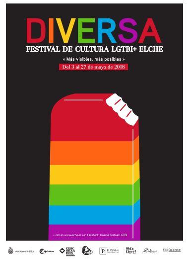 Portada DIVERSA: Festival LGTBI + Elche