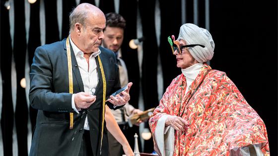 Concha Velasco y Antonio Resines se presentan en el Auditorio de Torrevieja con «El Funeral»