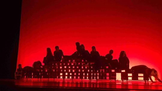 La última cena. Aula de Danza de la U.A.