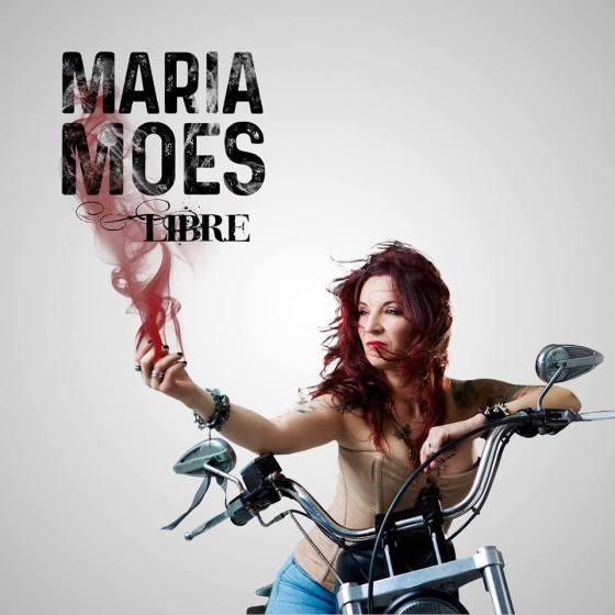 """""""Libre"""" el primer disco de María Moes"""