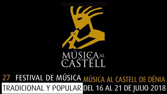 """El embrujo de la """"Música al Castell"""" de Dénia llega a su XXVII edición"""