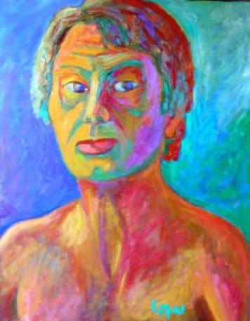 Retrato de Pablo Lau.