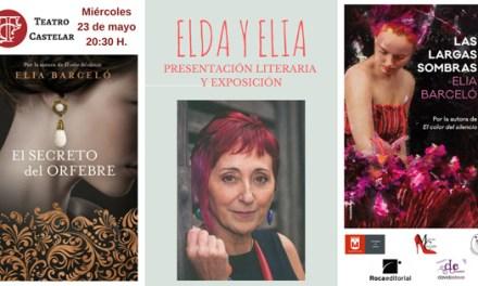 """Elia Barceló presenta en Elda reedición de sus novelas """"El secreto del orfebre"""" y """"Las largas sombras"""""""