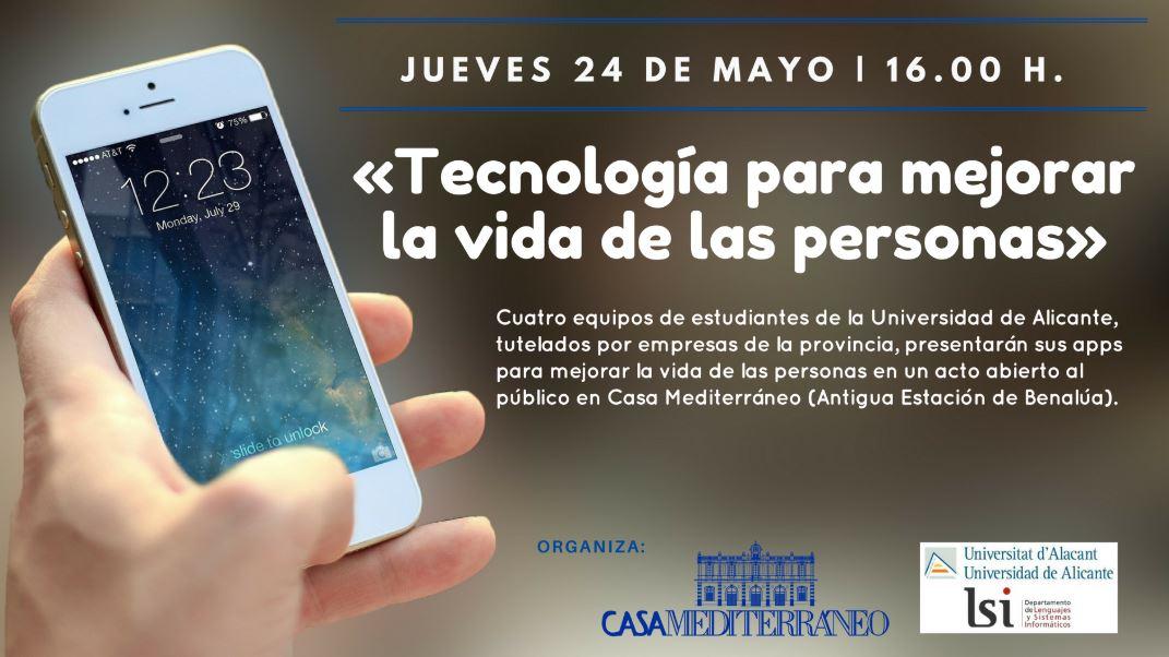 Presentación tecnología para mejorar la vida de las personas en Casa Mediterráneo