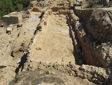 Restos de la Domus Llúria en la Pobla de Ifach. Archivo gráfico MARQ.