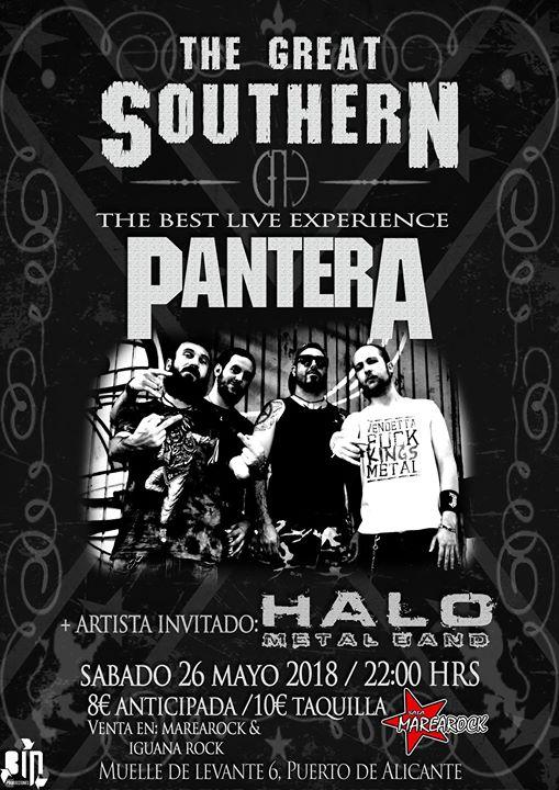 Música con The Greath Southern + Halo - Sala Marearock