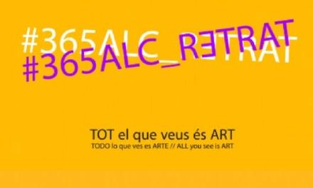 """Inauguració de """"365 ALC_RETRAT"""": tot els retrats que veus és art"""