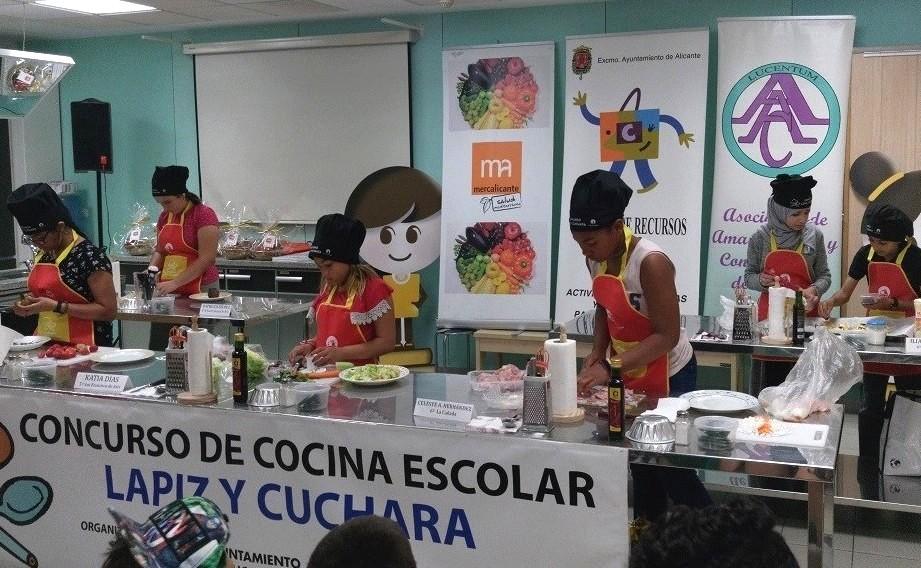 """Concurso """"Lápiz y Cuchara"""". Foto: Gabinete Prensa. Ayto. Alicante"""