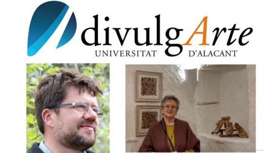 La artista Pilar Sala y el botánico José Fajardo participan el viernes en DivulgArte de la Sede de la Universidad de Alicante con Etnobotánica y Arte