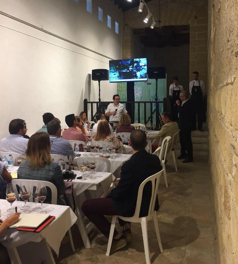 Cata de Pedro Ballesteros en Vinoble (Jerez)