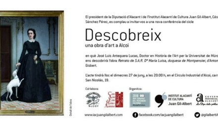 El Cercle Industrial d'Alcoi acull hui una conferència de l'historiador José Luis Antequera sobre l'obra d'Antonio Gisbert