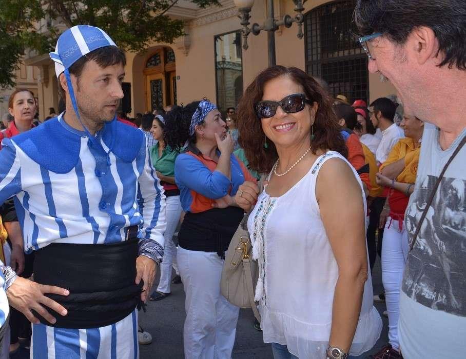 María Dolores Padilla y Manuel Palomar. Foto: Gabinet Premsa. Aj. Alacant