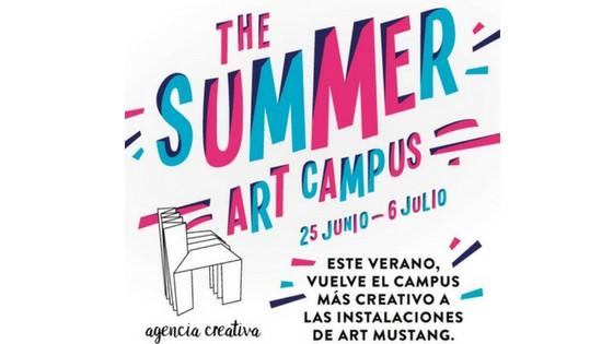 Summer Art Campus: una proposta d'art i temps lliure de Mustang per a iniciar l'estiu amb els més joves