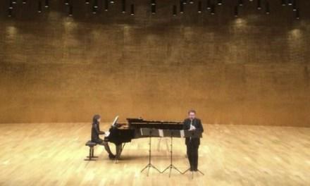 El duo Eduard Terol i Silvia Gómez ofrece un recital este viernes en la Sede Universitaria Ciudad de Alicante