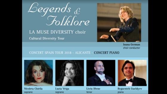 "El coro canadiense La Muse Diversité presenta en el Paraninfo de la UA ""Légendes & Folklore"""