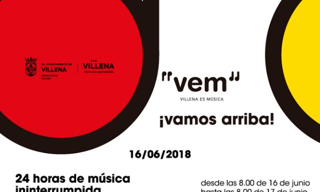 VEM 2018: 24 hores de Música a Villena