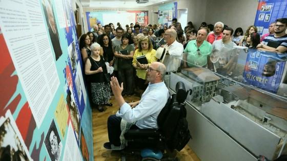 """Alacant inaugura l'exposició """"Alacant en Guerra"""" que commemora el 80 aniversari del Bombardeig del Mercat Central"""