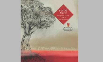 La ilustradora Montserrat Gisbert expone 'Arrelant' en Callosa d'en Sarrià