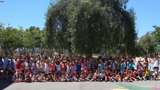Más de 230 niños y niñas participan en la 'Escola d'Estiu' que organiza la Concejalía de Educación de El Campello