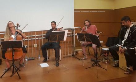 El Nassim va omplir de màgia andalusí la clausura de la Trobada d'Artistes de la Kasbah