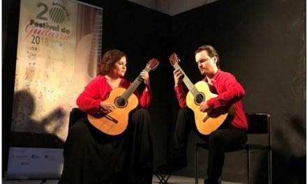 """El """"DÚO KITHARSIS"""" y el """"CANARY GUITAR CUARTET"""" quedan ganadores ex aequo del vi concurso de música de cámara con guitarra de Elche"""
