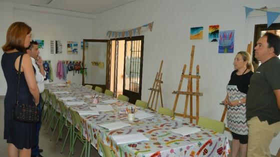 """Comienza el """"campus d'Art d'Estiu"""" en el Centro de Formación del Bulevar de Finestrat"""