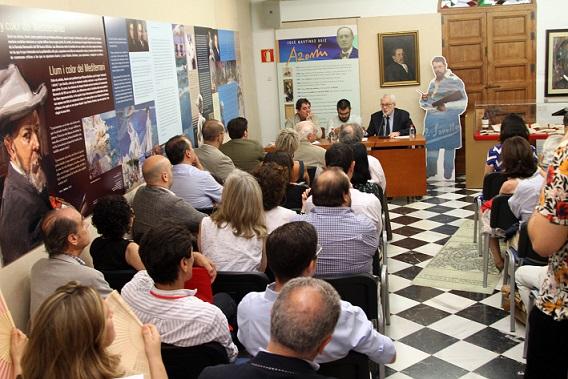 Firma del Conveno. Foto: Gabinete Prensa. Fundación Caja Mediterriáneo