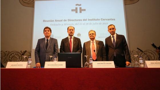 Arranca a Oriola la Reunió Anual de Directors-es de l'Institut Cervantes amb el suport de la Diputació d'Alacant